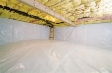 tricks and tips to remember when working in a crawl space agape press - How Do You Insulate A Crawl Space With A Dirt Floor