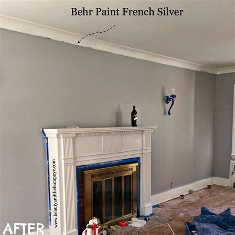 behr french silver gym colour paint colors living