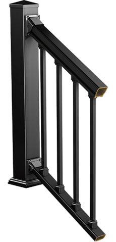 veranda railing kits veranda stair rail kit