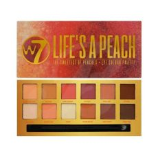 w7 lifes a peach eye colour palette buy w7 s a eyeshadow palette boozyshop