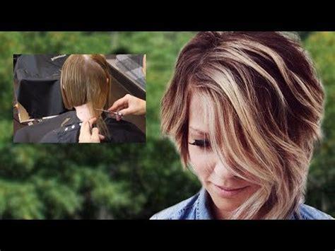 short haircuts 2018 asymmetrical short bob hairstyles tutorial