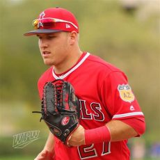what pros wear mike trout s rawlings pro preferred prosmt27 glove what pros wear - Mike Trout Rawlings Glove