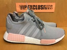 nmd vapour grey womens adidas nmd r1 w grey vapour pink light onix s nomad runner by3058 limited ebay