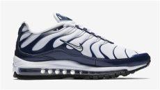 nike air max 97 plus white nike air max 97 plus navy white ah8144 100 sneaker bar detroit