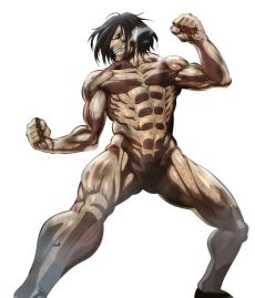 attack on titan eren titan form full body eren yeager heroes wiki fandom powered by wikia