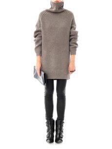 haider ackermann grey sweater haider ackermann oversized wool sweater in grey gray lyst