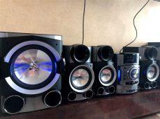 estereo lg 6 bocinas metal bass lg estereo de casa con 6 bocinas grandes 6 000 00 en mercado libre