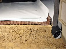 how do you insulate a crawl space with a dirt floor crawl space insulation with terrablock in pennsylvania delaware and maryland insulating