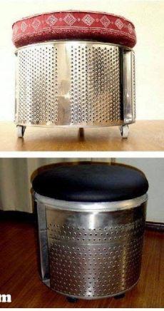 tambor de lavarropas puff de tambor de lavarropas lavarropas bricolage