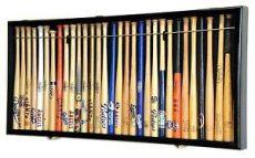 mini baseball bat rack display mini 18 quot mlb baseball mini bat display cabinet holder rack 98 uv lockable ebay