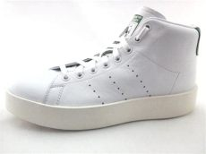 adidas stan smith new bold shoes adidas stan smith platform bold mid shoes white green leather by9663 s new ebay