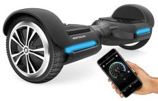 swagtron t580 hoverboard scooter with bluetooth speaker swagtron swagboard vibe t580 hoverboard app enabled bluetooth w speaker