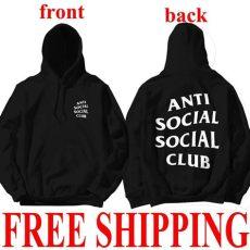 antisocial social club hoodie anti social social club hooded kanye sweatshirts ebay - Anti Social Social Club Pullover Kaufen