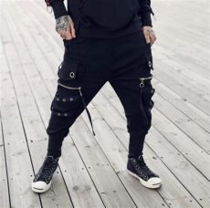 tapered cargo pants techwear tech god x2 yellow zipper tapered techwear cargo ninjadark