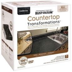 rustoleum charcoal countertop transformation kit review rust oleum 174 countertop transformations kit charcoal chion global