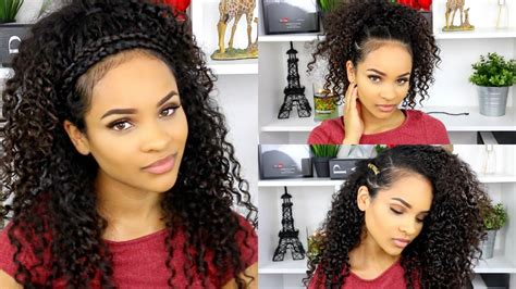 Simple Hairstyles For Curly Hair For School.html
