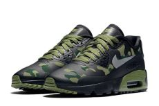 nike sportswear camo pack air 1 air max 90 sneaker bar detroit - Nike Air Max Camo Green
