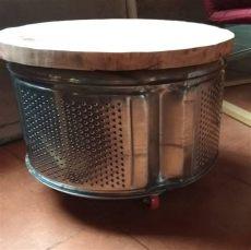 tambor de lavarropas tambor de lavarropas reutilizado decor home decor side table