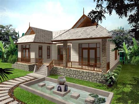 small minimalist single storey house design great modern