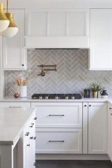 herringbone kitchen tile effortlessly herringbone backsplash fireclay tile