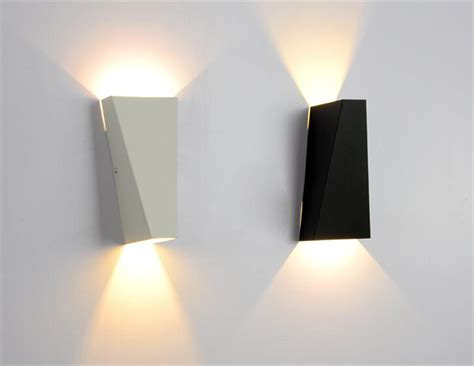 2019 10w led modern light wall square
