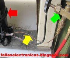 refrigeradores industriales como cargar gas a un minisplit manometros - Como Cargar Gas A Un Minisplit