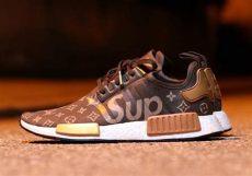 adidas louis vuitton shoes supreme louis vuitton adidas nmd custom sneakernews