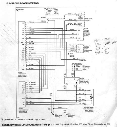 1986 toyota mr2 radio wiring diagram