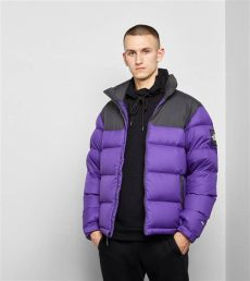 1992 nuptse north face the synthetic 1992 nuptse jacket in pink purple purple for lyst