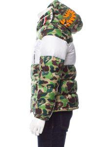 adidas originals x bape camouflage puffer jacket clothing wadio20001 the realreal - Bape X Adidas Puffer Jacket Replica