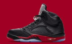 air 5 retro quot bred quot detailed photos release date air 23 air release dates - Air Jordan 5 Retro Black Red