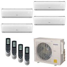 mini split inverter monterrey gree multi 21 zone 36 000 btu 3 0 ton ductless mini split air conditioner with heat inverter