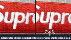 supreme box logo hoodie real vs fake how to tell a supreme box logo hoodie