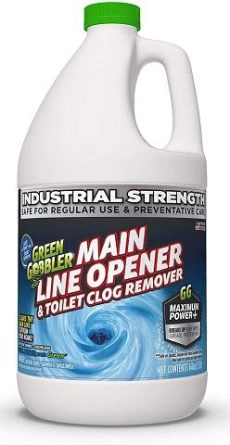 green gobbler drain cleaner ingredients best drain cleaners for clogged toilets 2020 reviews top picks shop toilet