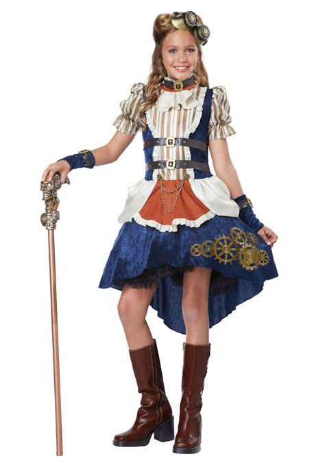 teen girls steunk costume