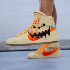 nike blazer off white pumpkin white x nike custom quot pumpkin quot blazers streetwear streetwearoutfit streetwearstyle