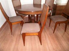 juego de comedor madera cedro 6 sillas mesa nuevo de walmer 49 900 00 en mercado libre - Comedor De 6 Sillas De Cedro