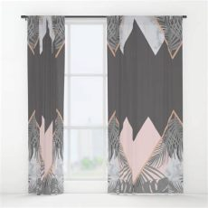 image result for pink blush grey curtain with images pink living room decor blush and - Blush Grey Copper Curtains
