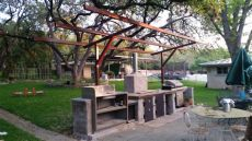 cantilever barbecue cover san antonio carport patio covers awnings san antonio best prices - Cantilever Awning Plans