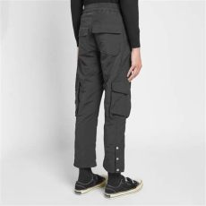 rhude cargo pants rhude cargo pant satin black end
