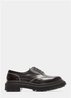 adieu shoes review adieu type 103 creeper derby shoes in black modesens