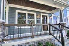 craftsman style porch railings white square columns future house exterior columns porch and squares