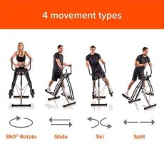 maxi glider 360 amazon maxi glider 360 by new image 10 in 1 home exercise fitness machine cross trainer ebay
