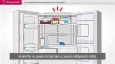 que temperatura mantiene el refrigerador problemas con la temperatura refrigerador lg colombia