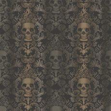 chesapeake luther sand skull modern damask wallpaper tot47111 the home depot - Sand Skull Damask Wallpaper