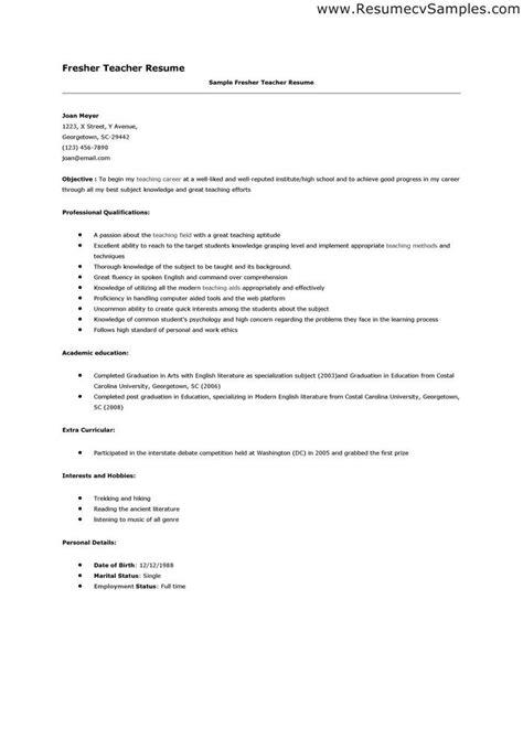 resume sle applying teacher art teacher sle resume
