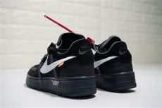 off white x nike air force 1 black white white x nike air 1 low black white