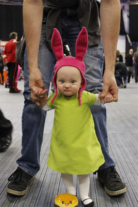 10 months nailed louise belcher attitude funny baby