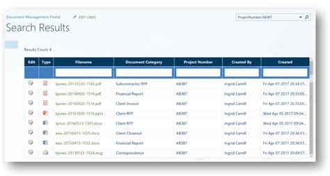 sharepoint case study replacing legacy document management system