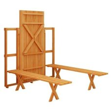 fold up picnic table the owner builder network - Diy Collapsible Picnic Table